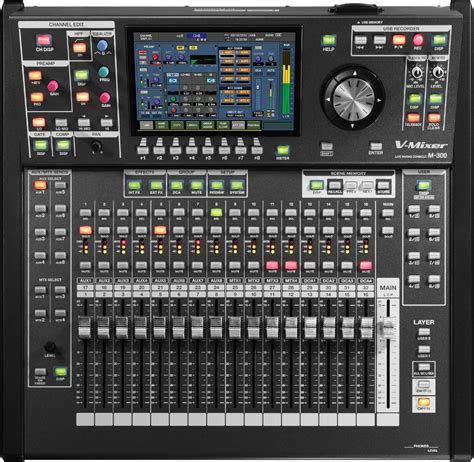 Mixer Audio Digital roland system m 300 32 channel v mixer compact live