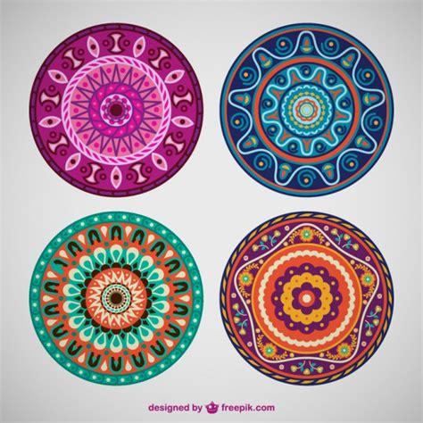 imagenes de mandalas hd para descargar a whasat vectores de colores estilo mandala descargar vectores gratis