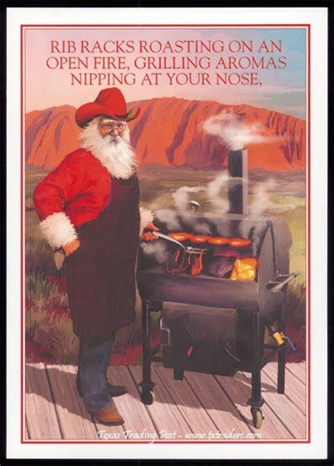 Texas Gift Card Law - christmas cards santa bbqing texas christmas cards