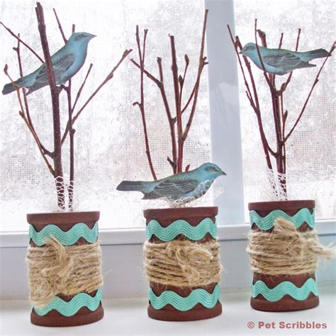 Craft Work For Home Decoration Spring Spool Craft Tutorial Pet Scribbles