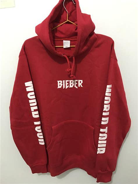 Jaket Hoodie Purpose The World Tour Bieber 02 Roffico Cloth justin bieber purpose tour print hoodie hip hop streetwear fleece cotton pullover world tour