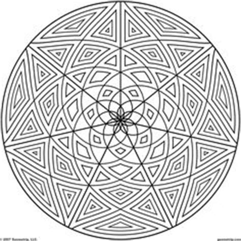 crazy geometric coloring pages free geometric design coloring pages images crazy gallery