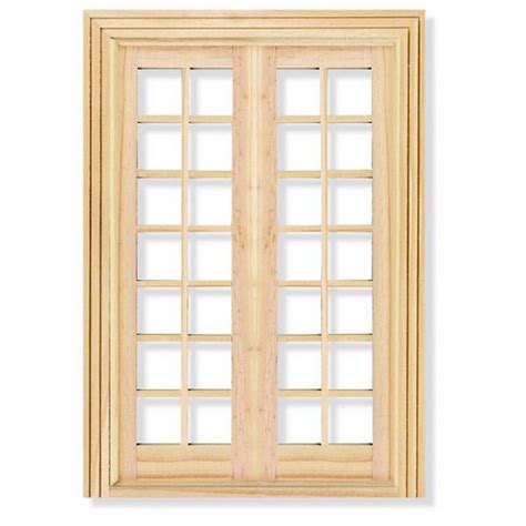 dolls house window french doors windows for 1 12 scale dolls house diy110