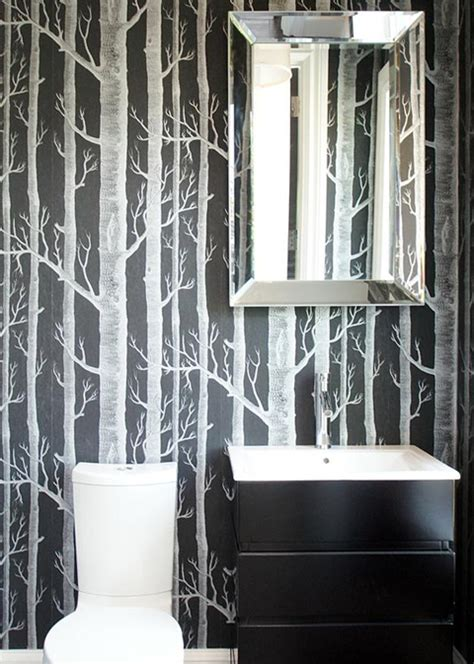 black and white tree wallpaper for walls pin of the week sue at home