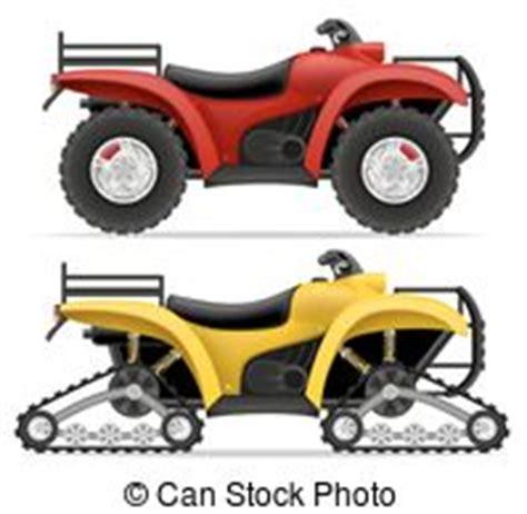 Motorrad Mit Vier R Der by Atv Vierrad Motorrad Vector Motorbike Bild