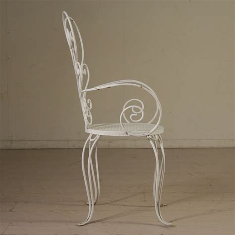 sedie di ferro sedie in ferro battuto sedie modernariato
