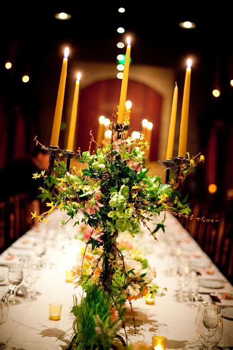 candelabra wedding centerpieces with flowers nvce candelabra centerpiece merryvale winery