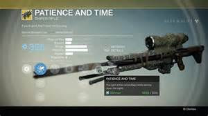 Destinypedia a very powerful very fancy exotic sniper rilfe