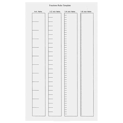 blank ruler template for kids kiddo shelter