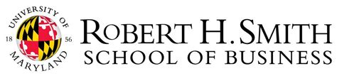 U Of R Mba by Logos Robert H Smith School Of Business Of