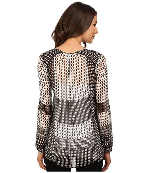 Lucky Brand Geo Print lucky brand mixed geo print top at 6pm