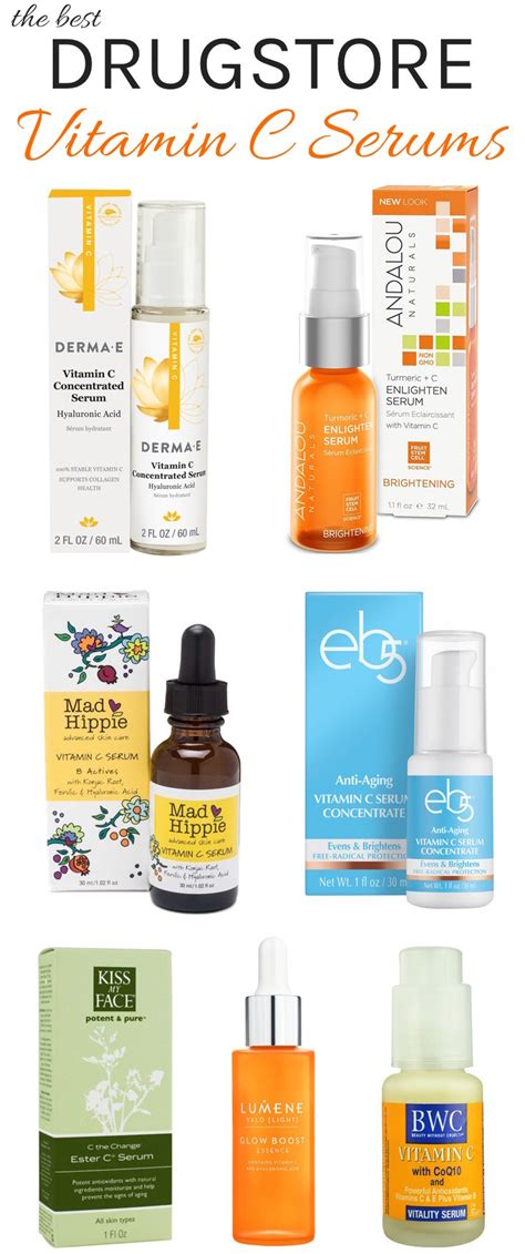 Serum Vitamin C Probio C best vitamin c serums drugstore to high end that give you the most for your buck