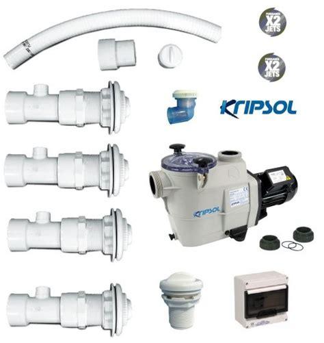 kit balneo pour baignoire kit baln 233 o pour piscine liner effet venturi eau air