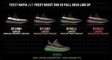 Sepatu Adidas Yezzy New Edition yeezy boost 350 v2 colorways sneaker bar detroit