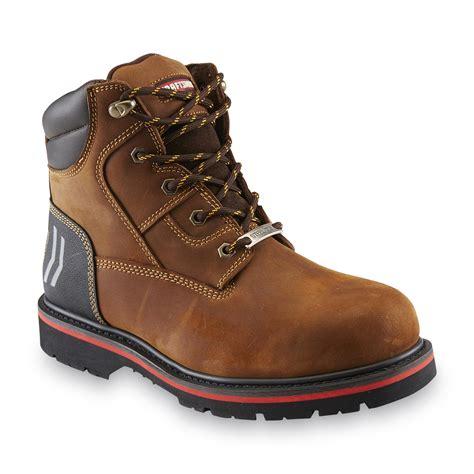 craftsman boots craftsman s laramie brown leather steel toe work boot