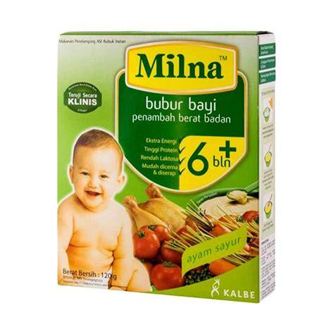 milna bubur bayi rasa ayam sayuran jual milna ayam sayur makanan bayi harga