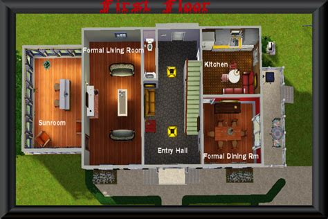 amityville horror house floor plan mod the sims amityville horror house
