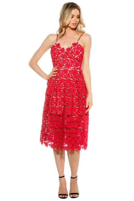 Rok Midi Pink Cherry cherry florence midi dress by bronx banco for hire glamcorner