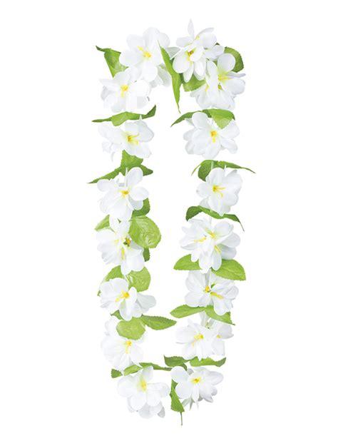 collana di fiori collana di fiori bianchi per adulto accessori e vestiti