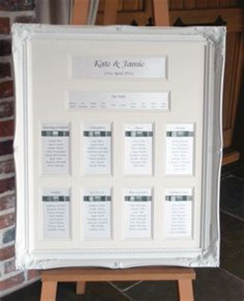 wedding seating plan picture frames 1000 images about seating charts on seating