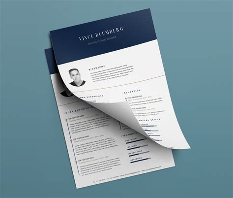 Cover Letter Template Psd Resume Cover Letter Free Psd Templates At Downloadfreepsd