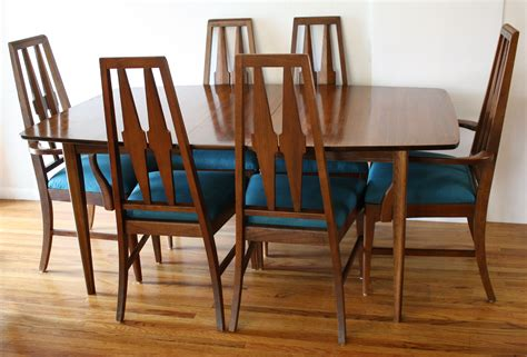 Broyhill Dining Table And Chairs Mid Century Modern Broyhill Brasilia Dining Table And Dining Chairs Picked Vintage
