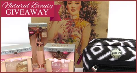 Beauty Giveaways 2014 - natural beauty giveaway makeup beauty products