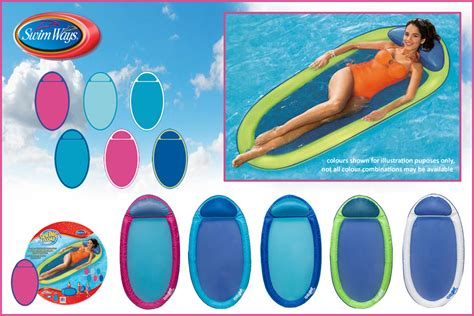 swimways pool recliner inflatable swimming pool shock