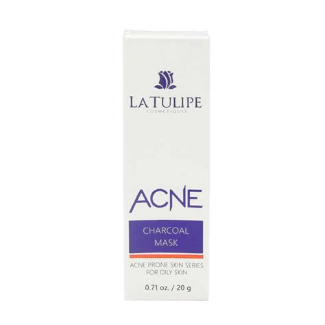 Acne Care La Tulipe la tulipe acne charcoal mask for skin 20 g pro