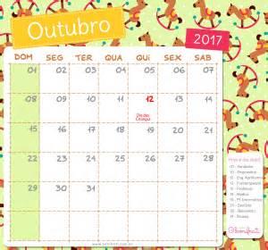 Calendario 2018 Mes De Outubro Calend 225 Bonifrati 2017