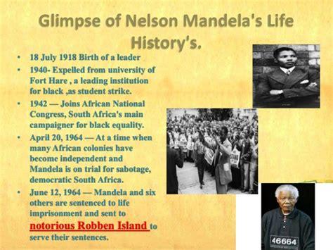 nelson mandela biography and achievements nelson mandela