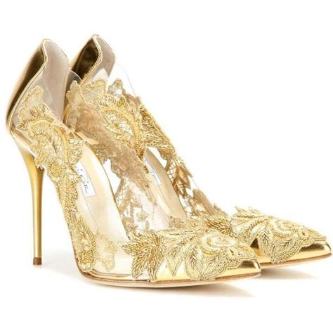 1000 Ideas About Gold High Heels On Pinterest Gold Sparkling Wedding Shoes