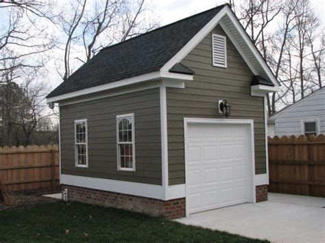 small garage plans one car detached garage detached single car garage with
