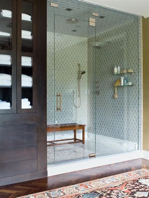 Large Shower by 25 Bathroom Bench And Stool Ideas For Serene Seated