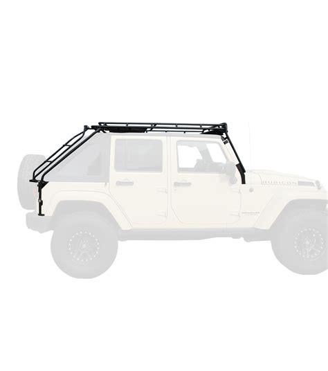 Gobi Roof Rack Review by Jeep Jku45 4door 183 Stealth Rack 183 4 Independent Led Lights