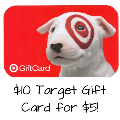 5 For 10 Target Gift Card - 10 target gift card only 5 mybargainbuddy com