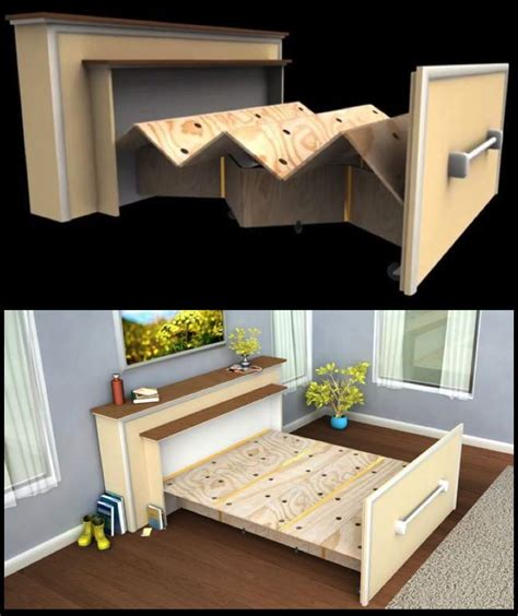 folding furniture for small houses 140 best images about make day bed on pinterest diy