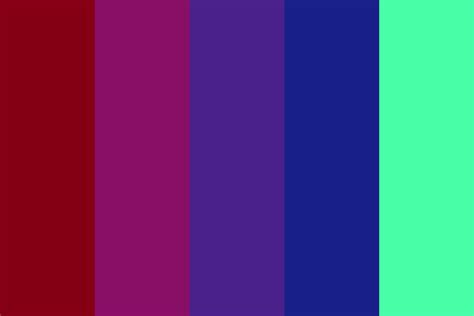 what is my color palette my aesthetic color palette