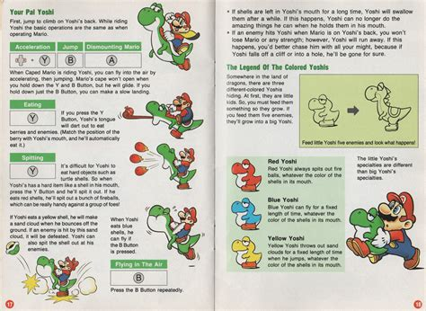 Blank Party Snesparty Day 2 Of Super Mario World Manual