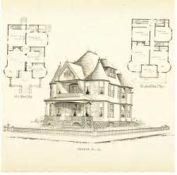 Historic Victorian Floor Plans by Building Plans For Old Victorian Home Joy Studio Design