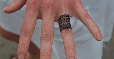 Wedding Ring On Left by Mens Wedding Ring Tattoos On Left