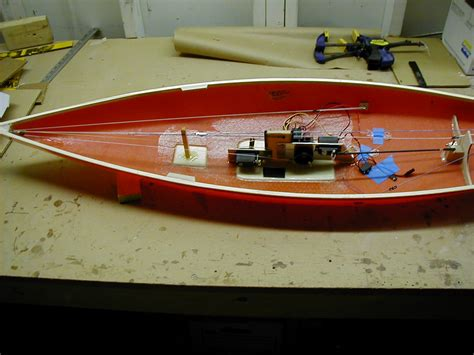 rc model boat building amya star45 how to build r c model sail boat