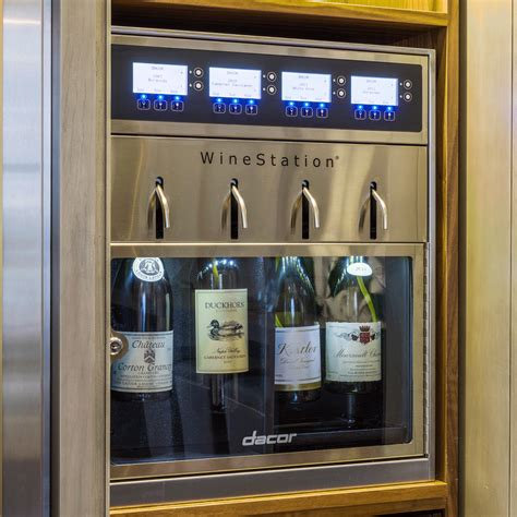 Wine Station In Kitchen by Dacor Dyws4 19 56 Quot Built In Wine Cooler Appliance Connection