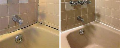 replacing bathtub caulk shower bath recaulking silicone replacement contour