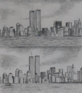New york skyline pre9 11 by smooth as sandpaper on deviantart