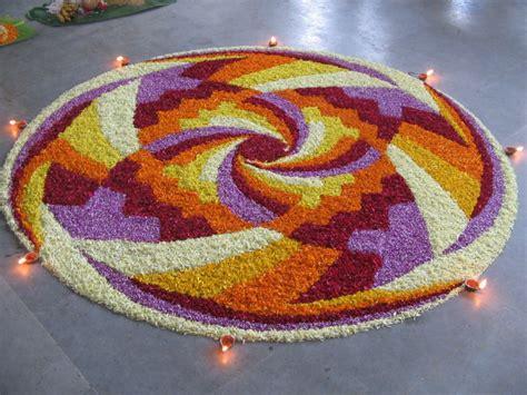 flower design in rangoli pics obsession flower rangoli designs