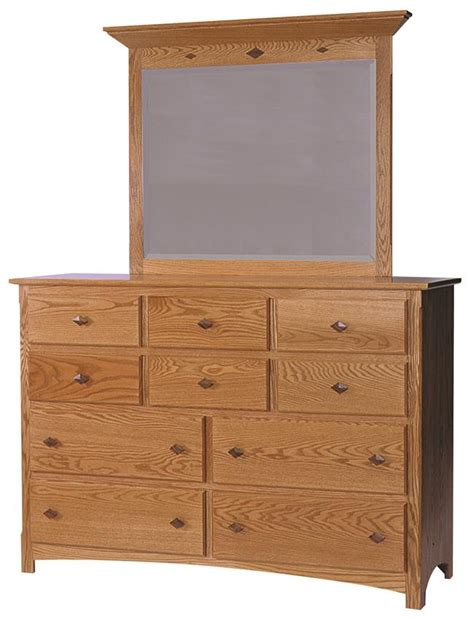 Country Mission Mule Dresser Mirror - century mission mule dresser with optional mirror from