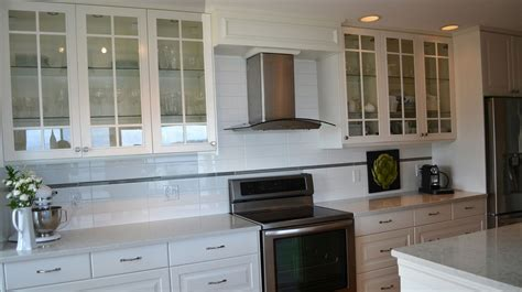 Backsplash In The Kitchen by Ikea Door Style Of The Week Bodbyn Ikan Installations