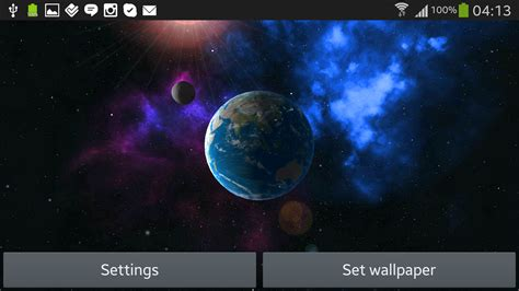 earth live wallpaper android apps on google play earth 3d live wallpaper free android apps on google play