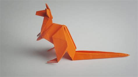 How To Make An Origami Kangaroo - origami kangaroo tutorial